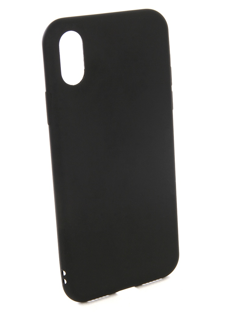 Аксессуар Чехол EVA для APPLE IPhone X Silicone Black IP8A001B-X