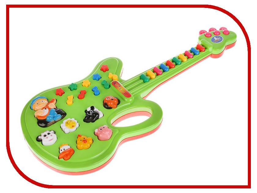 Детский музыкальный инструмент Умка Электрогитара B212180-R1 электрогитара ibanez rgd2127z prestige 7 string