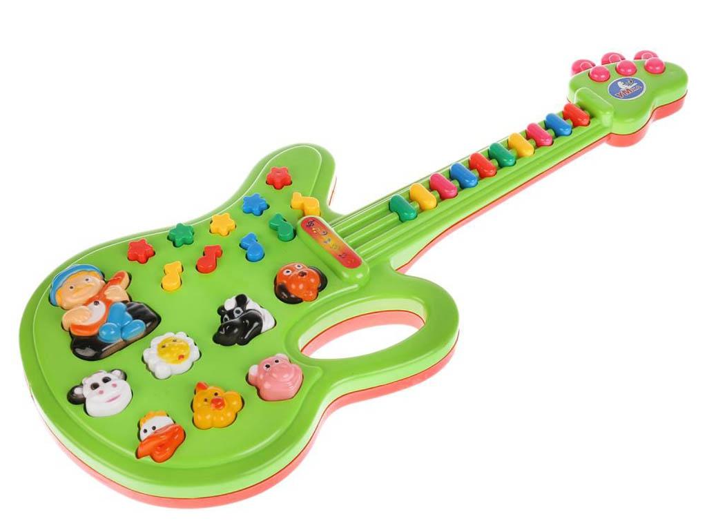 все цены на Детский музыкальный инструмент Умка Электрогитара B212180-R1 онлайн