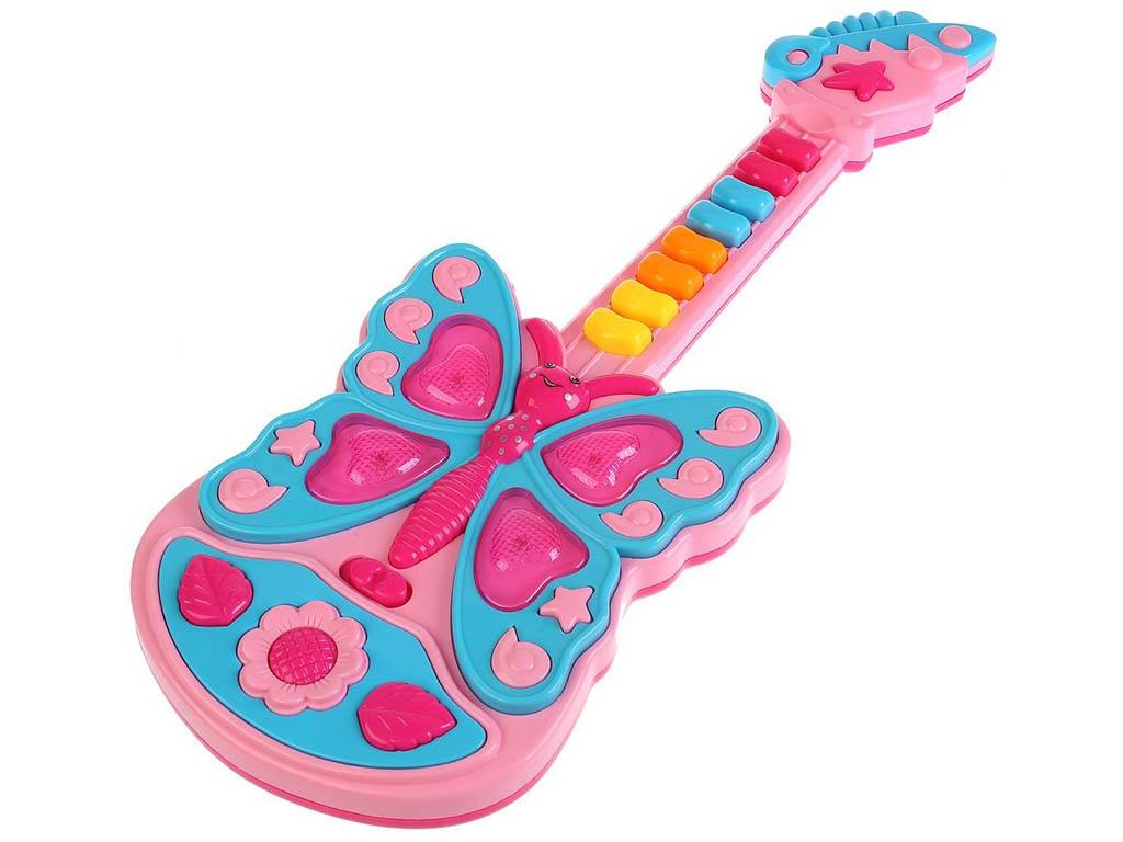 цена на Детский музыкальный инструмент Умка Электрогитара 1312M144