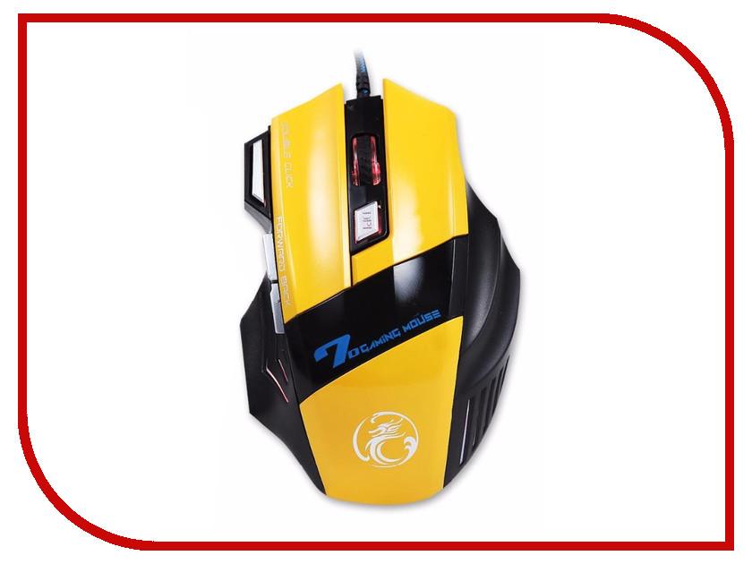 Мышь IMice X7-Y Yellow 10pcs free shipping a1358 c3421 2sa1358 2sc3421 2sa1358 y 2sc3421 y audio amplifier 5pcs a1358 5pcs c3421 new original