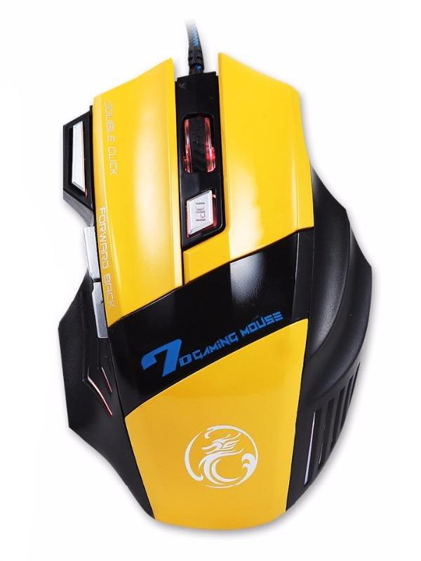 Мышь IMice X7-Y Yellow