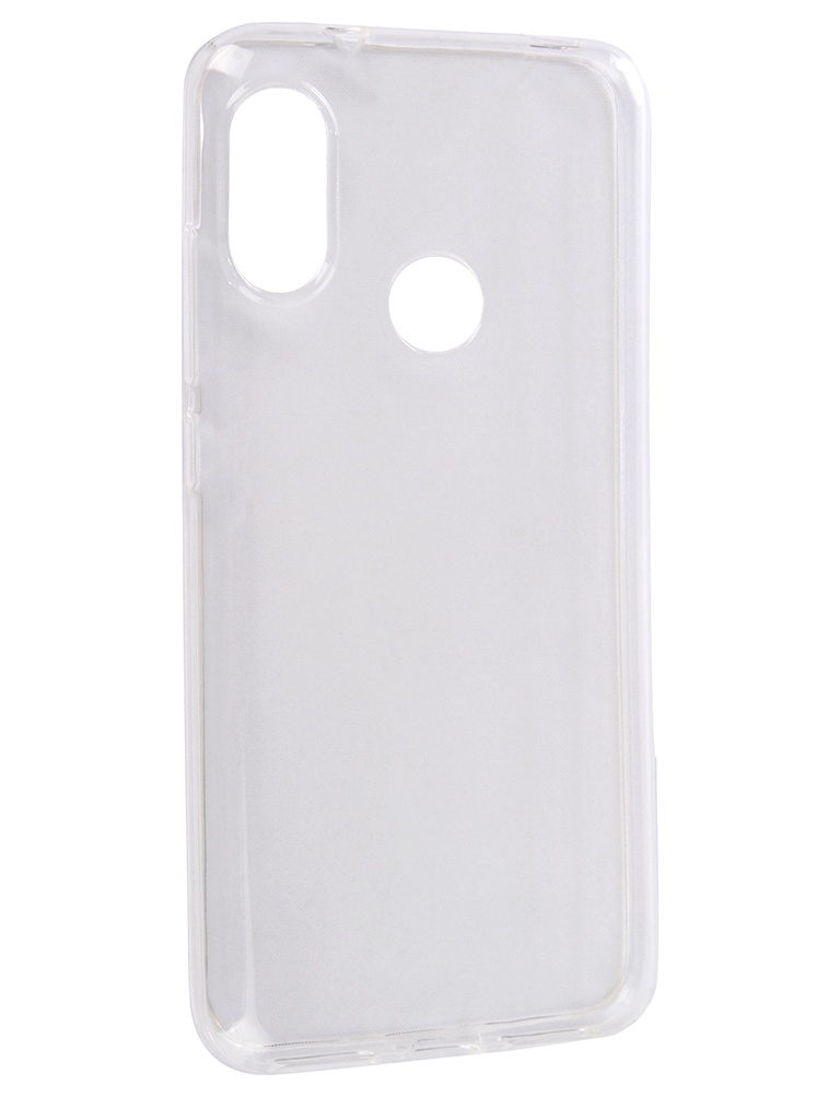 Аксессуар Чехол Media Gadget для Xiaomi Mi A2 Lite Essential Clear Cover Transparent ECCXMA2LTR