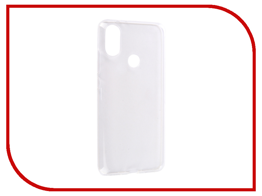цена на Аксессуар Чехол для Xiaomi Mi A2 Media Gadget Essential Clear Cover Transparent ECCXMA2TR