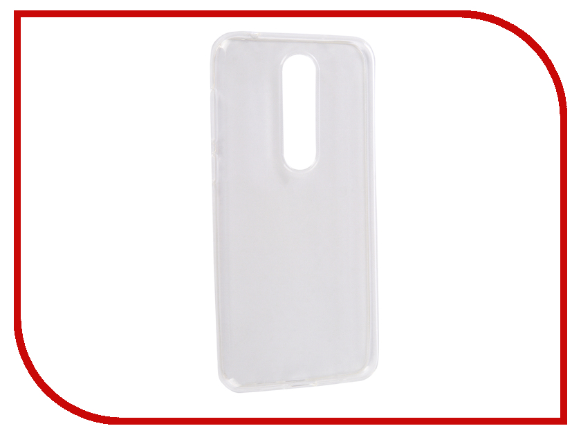 Аксессуар Чехол для Nokia 6.1 Plus 2018 Media Gadget Essential Clear Cover Transparent ECCN61P18TR hot new relay nt73 2c 12 dc24v nt73 2c 12 dc24v nt732c12 nt73 2c nt73 dc24v 24vdc 24v dip5
