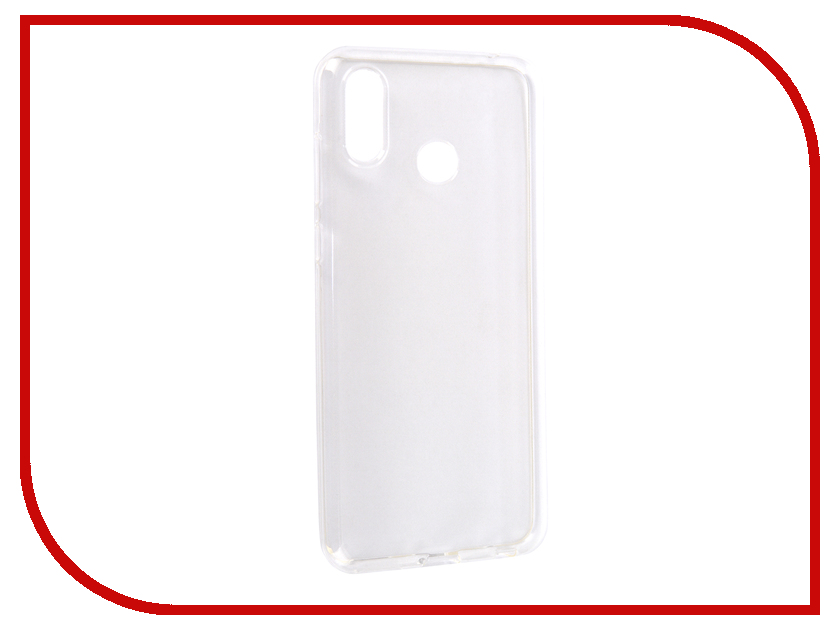 Аксессуар Чехол для Huawei Honor Play 2018 EU Media Gadget Essential Clear Cover Transparent ECCHHP2018TR