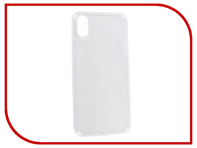 Аксессуар Чехол Media Gadget Essential Clear Cover для APPLE iPhone XS Max Transparent ECCNIP9PTR gangxun blackview a8 max корпус высокого качества кожа pu флип чехол kickstand anti shock кошелек для blackview a8 max