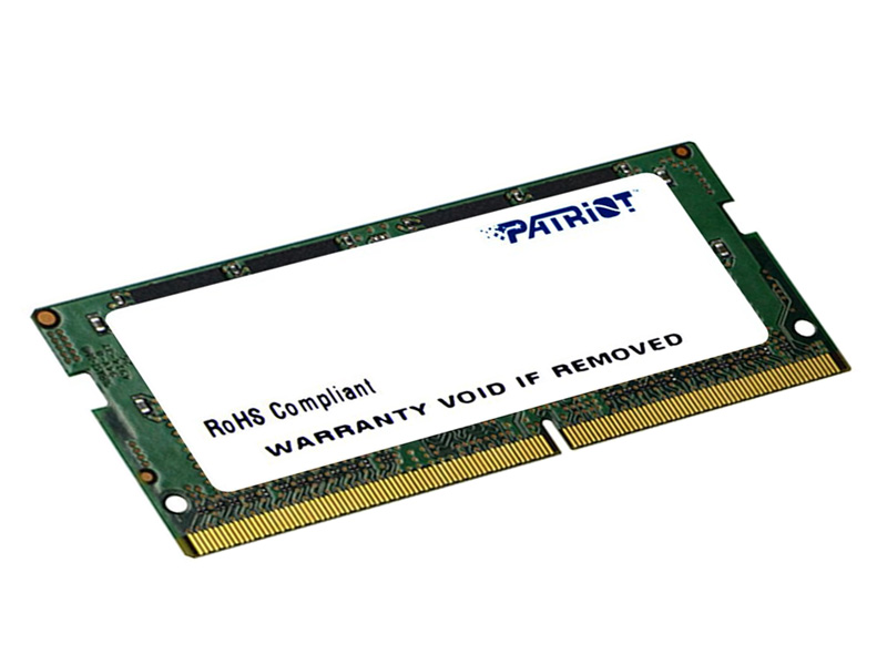 Модуль памяти Patriot Memory SO-DIMM DDR4 2400MHz PC-19200 CL17 - 4Gb PSD44G240081S