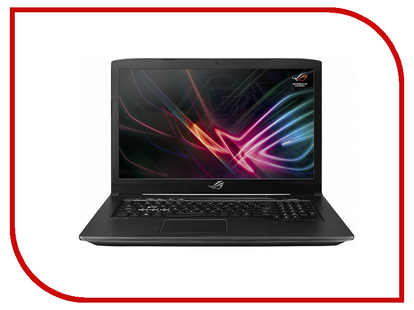 Ноутбук ASUS ROG GL703GM-EE225 90NR00G1-M04520 Black (Intel Core i7-8750H 2.2 GHz/8192Mb/1000Gb + 128Gb SSD/No ODD/nVidia GeForce GTX 1060 6144Mb/Wi-Fi/Cam/17.3/1920x1080/DOS) ноутбук asus gl703vm gc178 90nb0gl2 m02620 intel core i7 7700hq 2 8 ghz 8192mb 1000gb 128gb ssd no odd nvidia geforce gtx 1060 6144mb wi fi bluetooth cam 17 3 1920x1080 dos