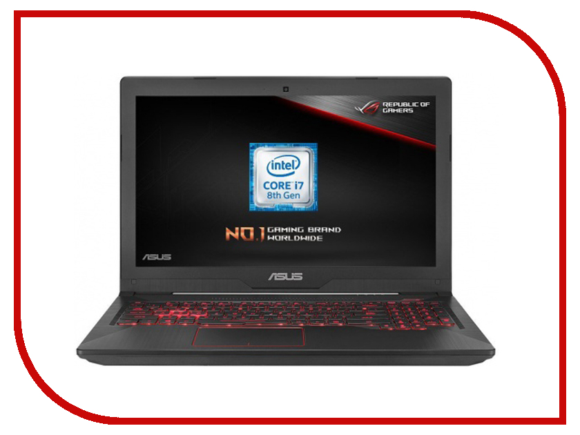 Ноутбук ASUS ROG FX504GM-EN022T 90NR00Q3-M06990 Metal (Intel Core i7-8750H 2.2 GHz/16384Mb/1000Gb + 256Gb SSD/No ODD/nVidia GeForce GTX 1060 6144Mb/Wi-Fi/Cam/15.6/1920x1080/Windows 10 64-bit) ноутбук asus gl553ve fy320t 90nb0dx3 m04570 intel core i7 7700hq 2 8 ghz 8192mb 2000gb 128gb ssd no odd nvidia geforce gtx 1050ti 4096mb wi fi cam 15 6 1920x1080 windows 10 64 bit
