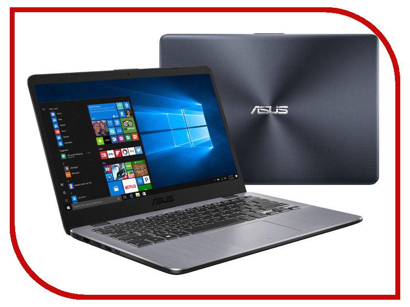 Ноутбук ASUS X405UA-BM565T 90NB0FA8-M13250 Matt Dark Grey (Intel Core i3-6006U 2.0 GHz/8192Mb/256Gb SSD/No ODD/Intel HD Graphics/Wi-Fi/Cam/14.0/1920x1080/Windows 10 64-bit)