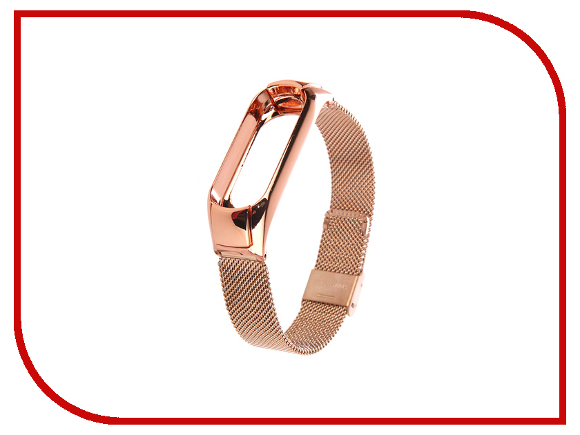 Aксессуар Ремешок Apres для Xiaomi Mi Band 3 Metal Mesh Strap Gold 18mm 20mm 22mm 24mm watchbands hot silver mixed rose gold stainless steel metal strap bracelets quartz watch band fast delivery