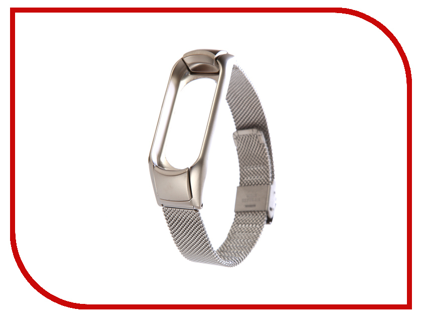 Aксессуар Ремешок Apres для Xiaomi Mi Band 3 Metal Mesh Strap Silver 18mm 20mm 22mm 24mm watchbands hot silver mixed rose gold stainless steel metal strap bracelets quartz watch band fast delivery