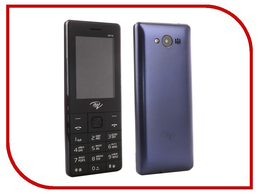 Сотовый телефон itel it6110 DS Dark Blue сотовый телефон senseit t100 black