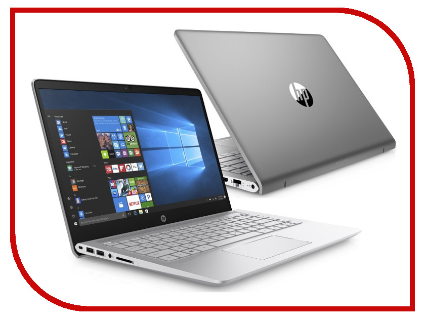 Ноутбук HP Pavilion 14-bf028ur 2QH99EA Mineral Silver (Intel Core i3-7100U 2.4 GHz/4096Mb/256Gb SSD/No ODD/Intel HD Graphics/Wi-Fi/Bluetooth/Cam/14.0/1920x1080/Windows 10 64-bit)