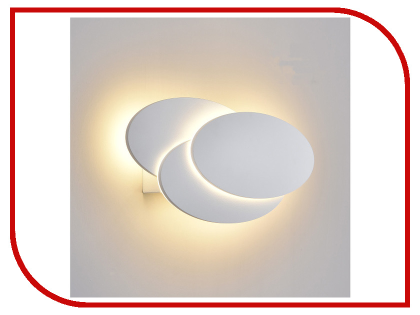 Светильник Elektrostandard Elips MRL LED 12W 1014 IP20 White Matt elektrostandard 1011 simple led 10w ip20 никель
