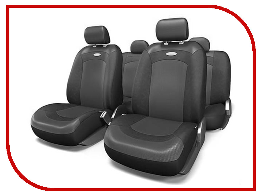 Чехлы на сиденье Autoprofi Extreme Black-Black XTR-803 BK/BK M husky espace