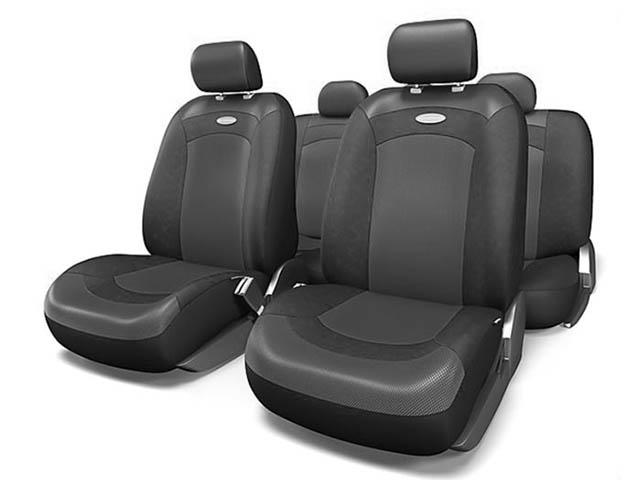 Чехлы на сиденье Autoprofi Extreme Black-Black XTR-803 BK/BK M
