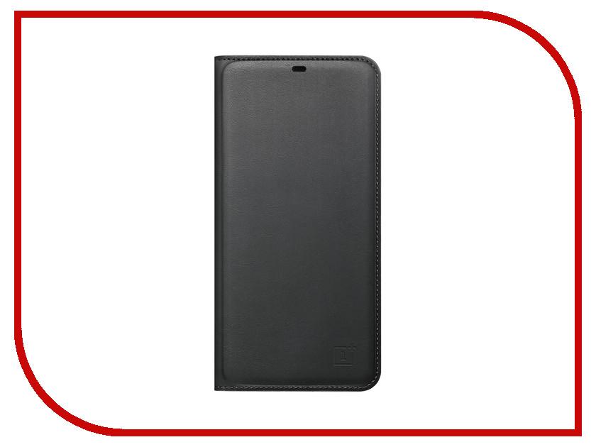Аксессуар Чехол OnePlus 6 Flip Cover Black