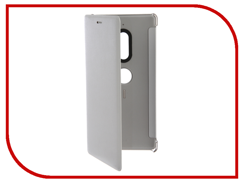 Аксессуар Чехол для Sony Xperia XZ2 Silver SCSH40 магнитый кабель ainy для sony xperia z1 z2 z3 фиолетовый