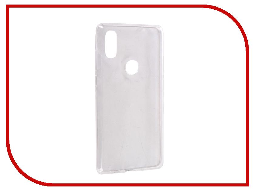 Аксессуар Чехол для Xiaomi Mi Mix 2S Svekla Silicone Transparent SV-XIMIMIX2S-WH аксессуар защитное стекло для xiaomi mi mix 2s svekla full screen white zs svxirmi2s fswh