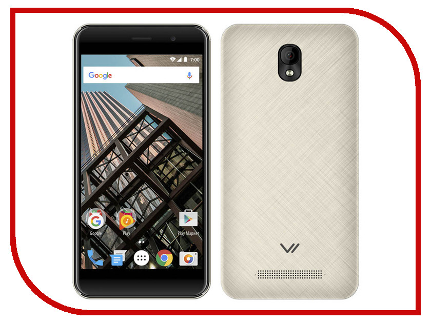 цена на Сотовый телефон Vertex Impress Bear LTE Gold