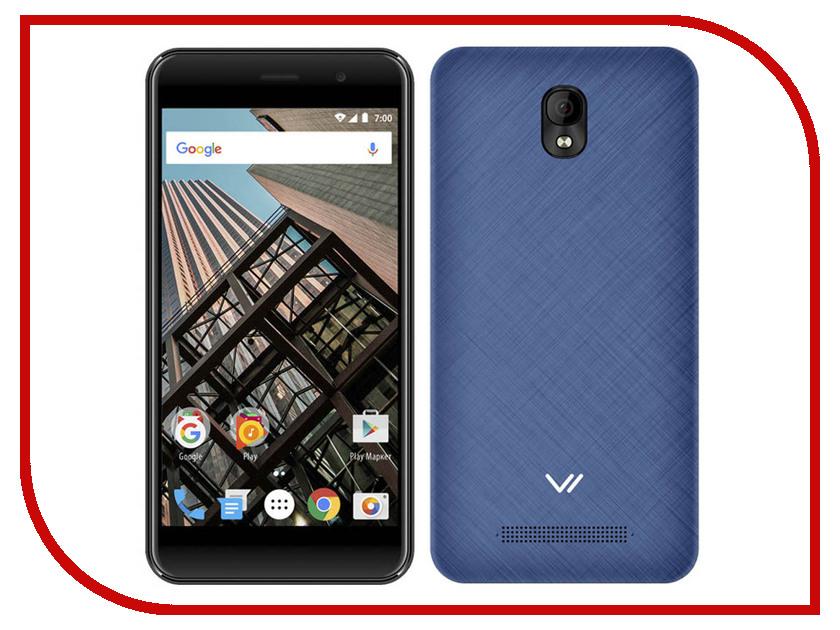 Сотовый телефон Vertex Impress Bear LTE Blue мобильный телефон vertex impress disco графит