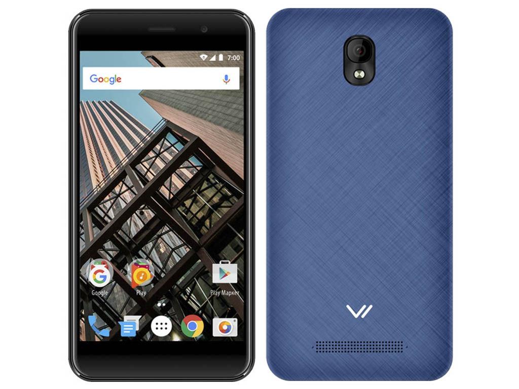 Сотовый телефон Vertex Impress Bear LTE Blue смартфон vertex impress play lte black