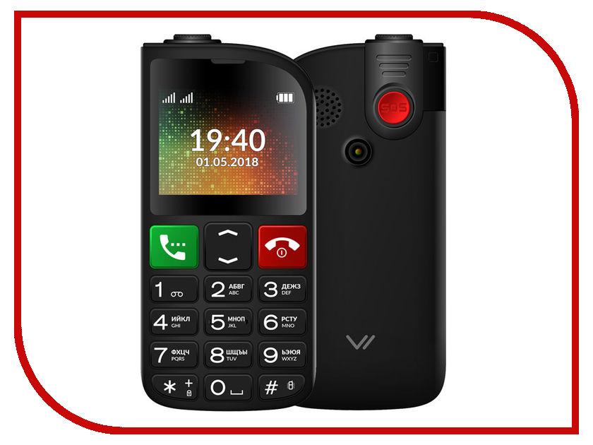 Сотовый телефон Vertex C315 Black сотовый телефон vertex s106 flip pink