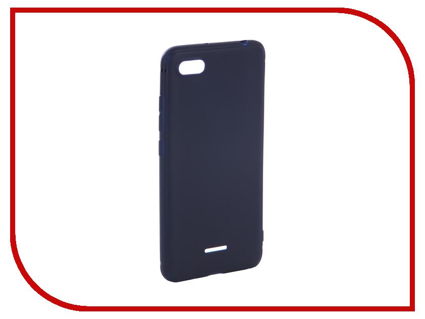 Аксессуар Чехол для Xiaomi Redmi 6A Gurdini High-Tech Silicone Dark Blue 906608 mayitr 5x7ft magic dark blue mysterious photography background vinyl high quality backdrop for studio photo props