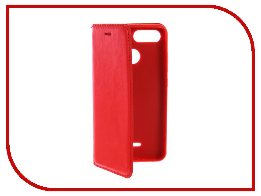 Аксессуар Чехол для Xiaomi Redmi 6A Gurdini Premium Silicone Magnetic Red 906627 аксессуар чехол для xiaomi redmi 4x gurdini premium silicone champagne