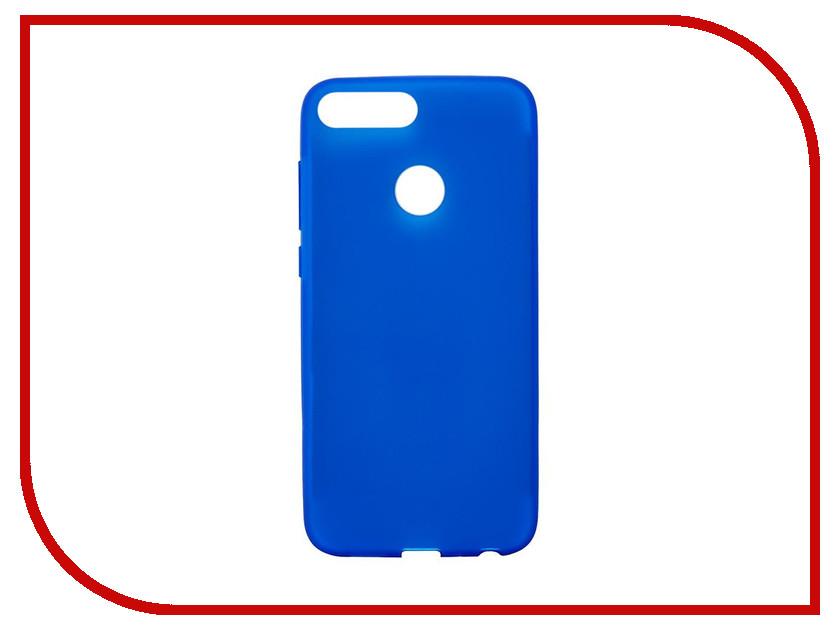 Аксессуар Чехол для Huawei P Smart Activ Mate Blue 84085