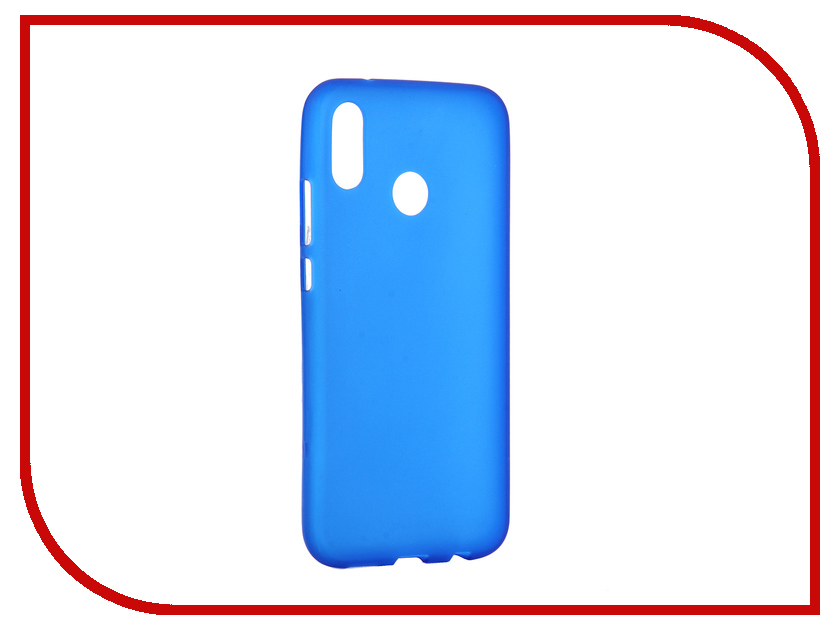 Аксессуар Чехол для Huawei P20 Lite Activ Mate Blue 84910 автокресло cbx by cybex aura fix pure black 512107042