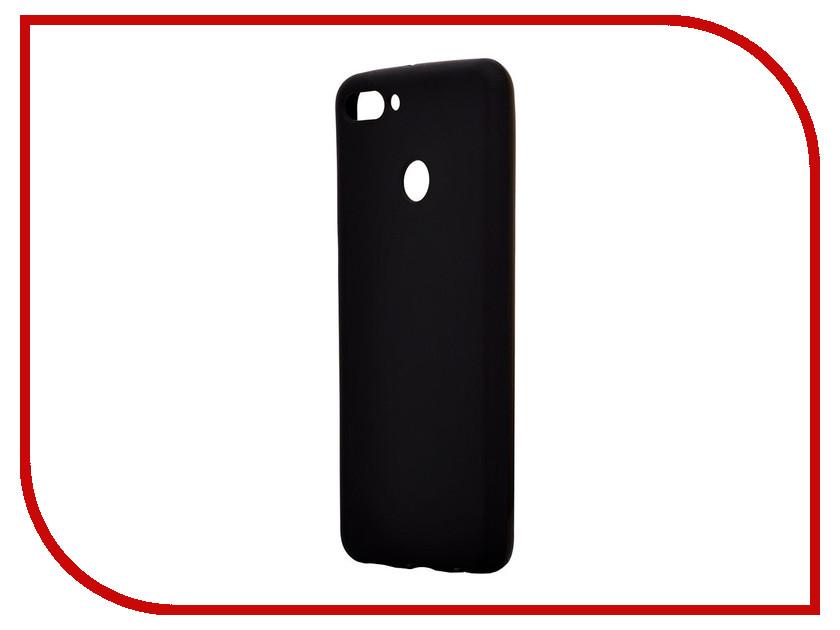 Аксессуар Чехол для Huawei Y9 2018 Activ Mate Black 84915 аксессуар чехол lg g4 stylus activ flip leather black 51326