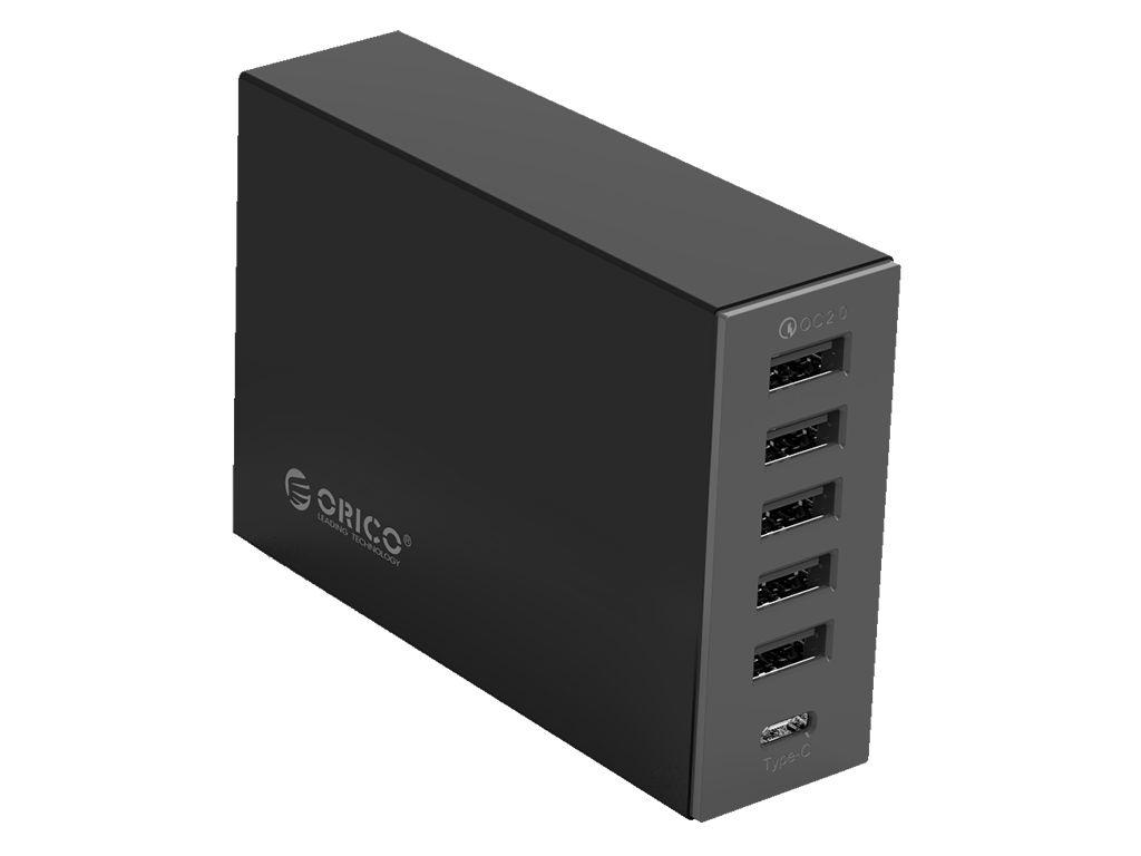 Зарядное устройство Orico TSL-6U Black
