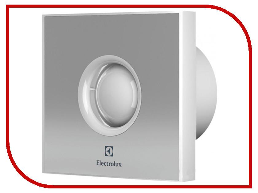 Вытяжной вентилятор Electrolux Rainbow EAFR-100 Silver бытовой вентилятор electrolux move eafv 100 с датчиком движения