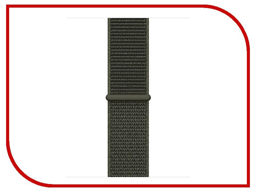 Аксессуар Ремешок APPLE Watch 38mm Nike Sport Loop Khaki MRJ22ZM/A аксессуар ремешок apple watch 42mm activ silver sport band 79558