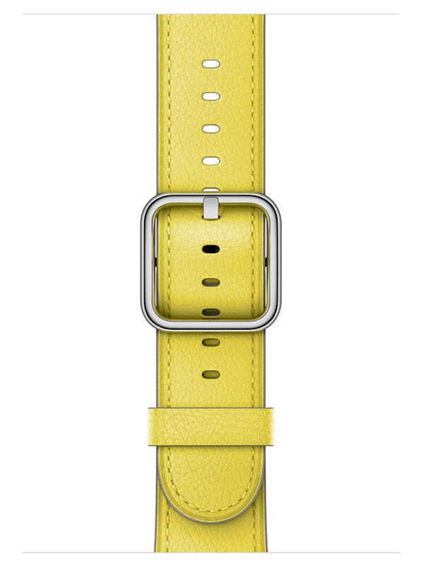 купить Аксессуар Ремешок APPLE Watch 42mm Classic Buckle Yellow MRP72ZM/A по цене 6286 рублей