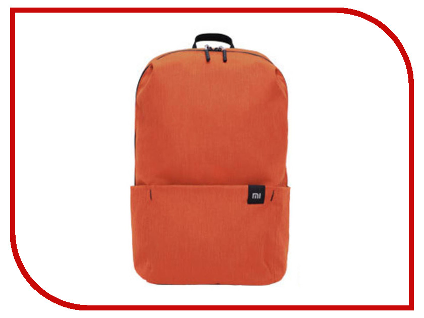 Рюкзак Xiaomi Mi Mini Backpack 10L Orange ozuko multi functional men backpack waterproof usb charge computer backpacks 15inch laptop bag creative student school bags 2018