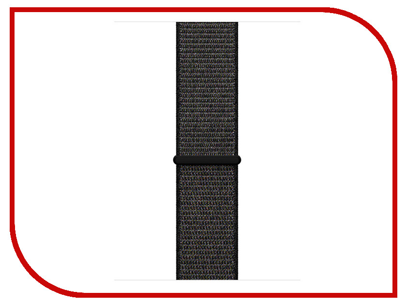Аксессуар Ремешок APPLE Watch 42mm Sport Loop Nylon Black MQW72ZM/A 2017 hot 42mm parnis black dial date stainless steel sapphire crystal luminous marks miyota automatic mechanical men s watch