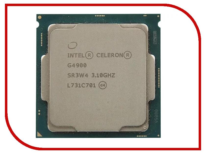 Процессор Intel Celeron G4900 Coffee Lake (3100MHz/LGA1151 v2 /L3 2048Kb) OEM мини пк eglobal oem vesa pc intel celeron 1037u htpc hm77 300m pc 4g 8g ssd v2 c1037ub