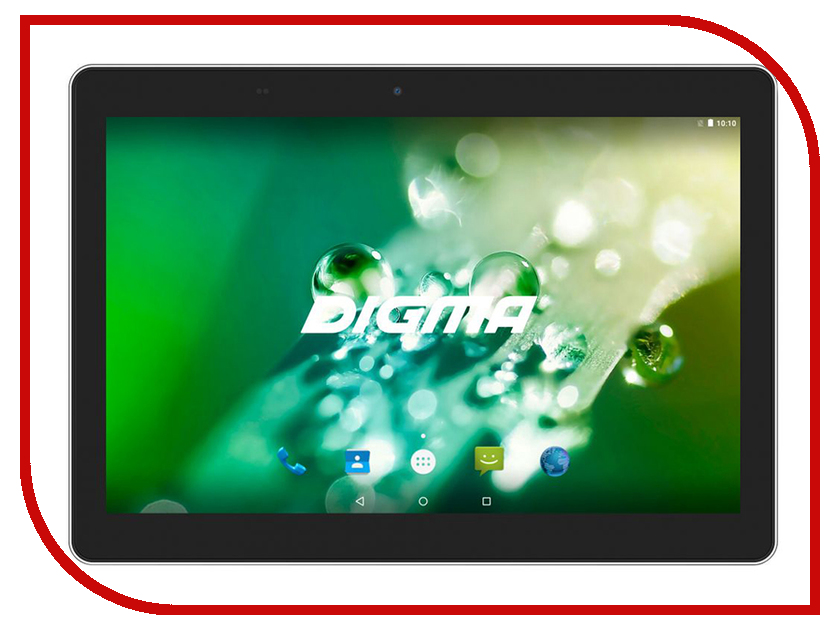 Планшет Digma Optima 1023N 3G Black TS1186MG (MTK8321 1.3 GHz/2048Mb/16Gb/GPS/3G/Wi-Fi/Bluetooth/Cam/10.1/1280x800/Android) new 2 fold folio pu leather stand cover case for onda v10 3g 4g call phone 10 1inch tablet pc black and white color gift