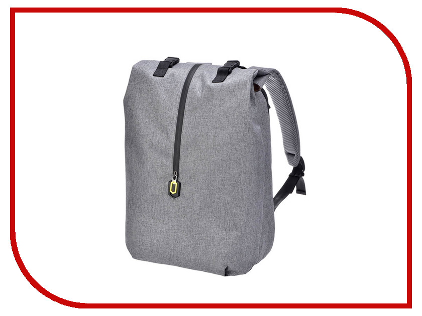 Рюкзак Xiaomi 90 Points Outdoor Leisure Backpack Grey 8848 d004 european and american fashion outdoor travel bag large capacity drum shaped waterproof bag outdoor travel leisure
