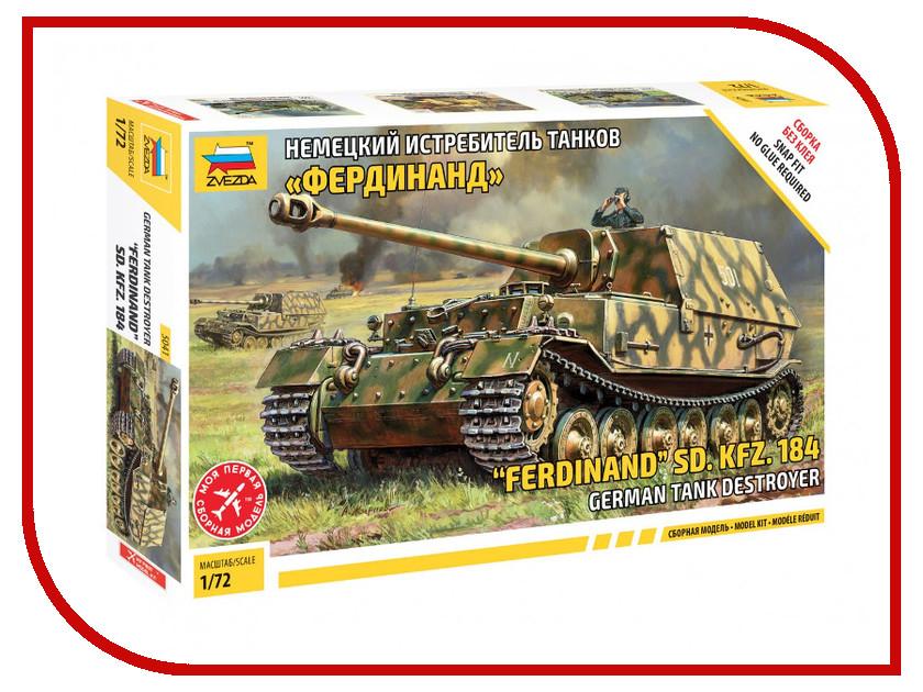 Сборная модель Zvezda Немецкий истребитель танков Фердинанд 5041
