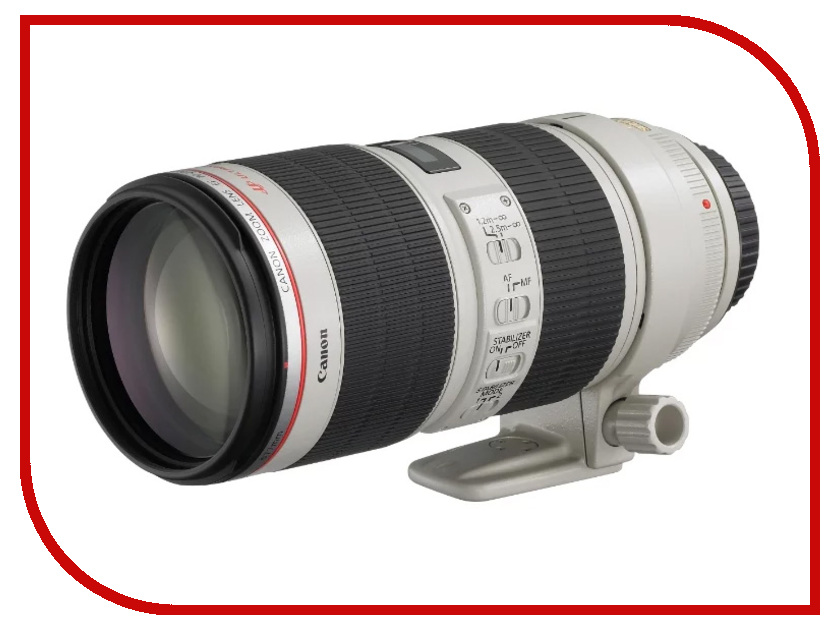 Объектив Canon EF 70-200mm f/2.8L IS III USM объектив canon ef 28 300 mm f 3 5 5 6 l is usm
