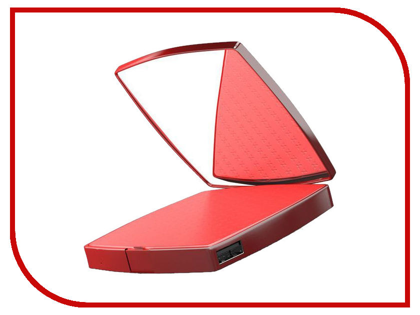 Аккумулятор HIPER Mirror 4000 Red afsel brand 7 inch led table mirror double sided makeup mirror lighted cosmetic mirror 5x 10x magnification aaa battery hd