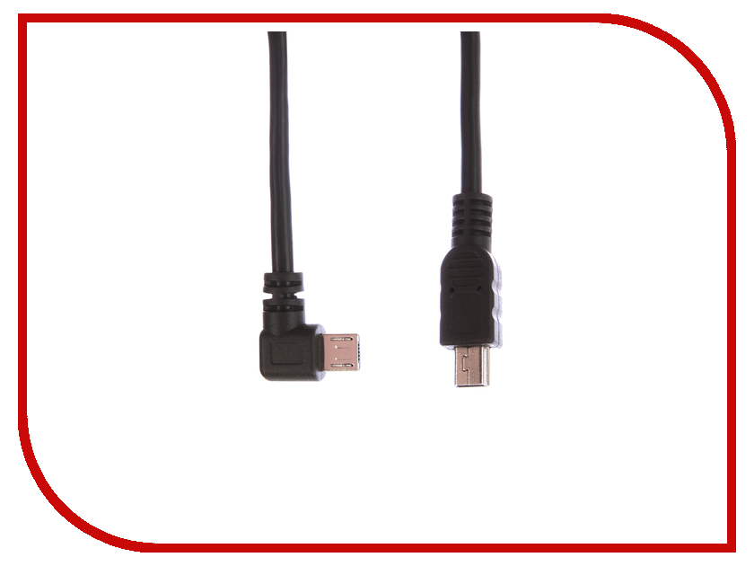 Аксессуар Greenconnect USB 2.0 AM - Micro B 5pin 0.2m Black GCR-50818