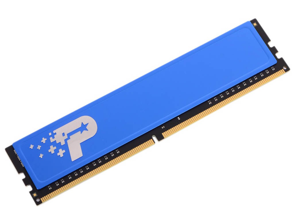 Модуль памяти Patriot Memory PSD44G240081H DDR4 DIMM 2400Mhz PC4-19200 CL17 - 4Gb цена