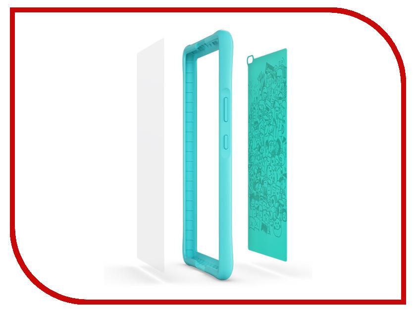 Аксессуар Чехол Lenovo Tab 4 8 HD Kids Case Turquoise-WW ZG38C01700 7 8 universal zipper tablet sleeve pouch bag case for ipad mini 1 2 3 4 cover for samsung lenovo tab 3 4 t3 8 0 case fundas