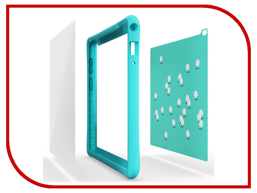 Аксессуар Чехол Lenovo Tab 4 10 HD Kids Case Turquoise-WW ZG38C01715 case for lenovo yoga tab 3 10 cover tab3 10 case sleeve protective smart leather tablet yoga yt3 x50f x50l yt3 x50m pu 10 1